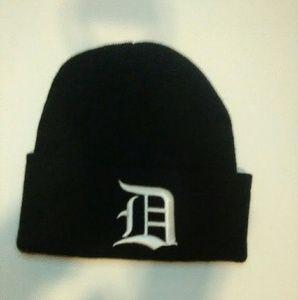 Other - Detroit Label Knit Hat